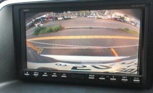 バックカメラ映像