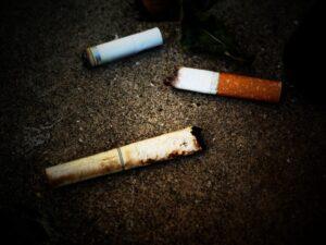 タバコの吸い殻