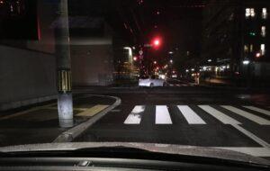 LEDライト照射2